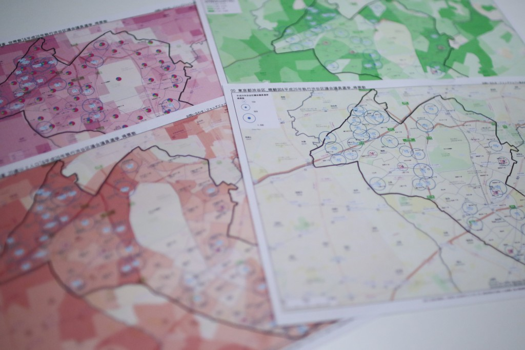 ジャッグジャパンでは、これまでも地図を使った選挙区可視化分析を数多く行っている